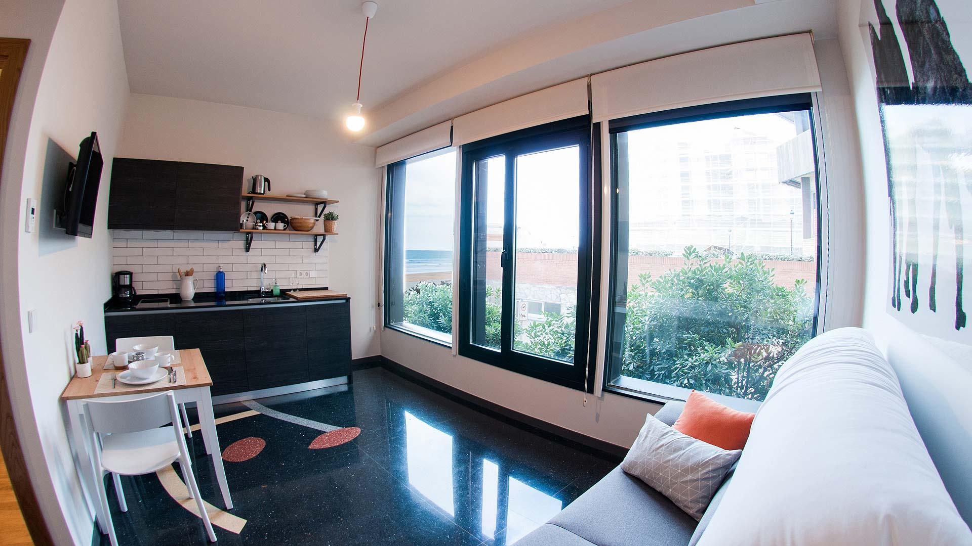 Alojamiento c ntrico en zarautz apartamentos dada capacidad de 2 a 4 - Apartamentos en zarauz ...